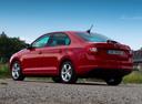 Фото авто Skoda Rapid 3 поколение, ракурс: 135 цвет: красный