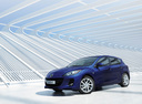 Фото авто Mazda 3 BL [рестайлинг], ракурс: 45 цвет: синий