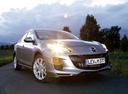 Фото авто Mazda 3 BL [рестайлинг], ракурс: 315 цвет: серебряный