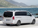 Фото авто Mercedes-Benz V-Класс W447, ракурс: 225 цвет: серебряный