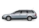 Фото авто Volkswagen Passat B5.5 [рестайлинг], ракурс: 90 цвет: серебряный