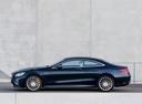 Фото авто Mercedes-Benz S-Класс W222/C217/A217, ракурс: 90 цвет: синий