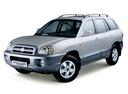 Фото авто Hyundai Santa Fe SM [рестайлинг], ракурс: 45 цвет: серебряный