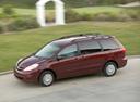 Фото авто Toyota Sienna 2 поколение [рестайлинг], ракурс: 45