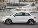 Фото авто Audi A1 8X [рестайлинг], ракурс: 90 цвет: белый