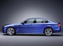 Фото авто BMW M5 F10, ракурс: 90 цвет: синий