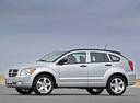 Фото авто Dodge Caliber 1 поколение, ракурс: 90 цвет: серебряный