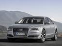 Фото авто Audi A8 D4/4H [рестайлинг],  цвет: серебряный