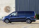 Фото авто Mercedes-Benz V-Класс W447, ракурс: 90 цвет: синий