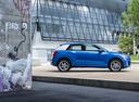 Фото авто Audi Q2 1 поколение, ракурс: 270 цвет: голубой