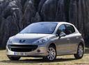 Фото авто Peugeot 207 1 поколение, ракурс: 45 цвет: серебряный