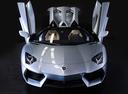 Фото авто Lamborghini Aventador 1 поколение,  цвет: серый