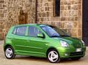 Фото авто Kia Picanto 1 поколение, ракурс: 315 цвет: зеленый