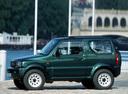 Фото авто Suzuki Jimny 3 поколение, ракурс: 90 цвет: зеленый