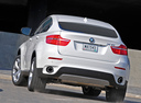 Фото авто BMW X6 E71/E72, ракурс: 180 цвет: белый