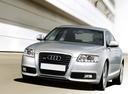 Фото авто Audi A6 4F/C6 [рестайлинг], ракурс: 45 цвет: серебряный