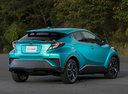 Фото авто Toyota C-HR 1 поколение, ракурс: 225 цвет: бирюзовый