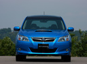 Фото авто Subaru Exiga 1 поколение,  цвет: синий