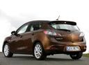 Фото авто Mazda 3 BL [рестайлинг], ракурс: 135 цвет: коричневый