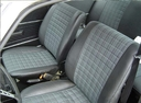 Фото авто Volkswagen Passat B1, ракурс: сиденье