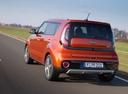 Фото авто Kia Soul 2 поколение [рестайлинг], ракурс: 135 цвет: оранжевый