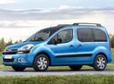 Фото авто Citroen Berlingo 2 поколение [рестайлинг], ракурс: 45 цвет: голубой