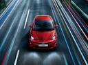 Фото авто Toyota Prius 4 поколение, ракурс: сверху цвет: красный