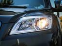 Фото авто Lifan X60 1 поколение [рестайлинг], ракурс: передние фары цвет: серый