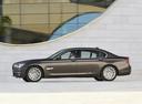 Фото авто BMW 7 серия F01/F02 [рестайлинг], ракурс: 90 цвет: коричневый