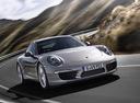 Фото авто Porsche 911 991, ракурс: 315 цвет: серебряный