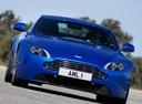Фото авто Aston Martin Vantage 3 поколение [2-й рестайлинг],  цвет: синий