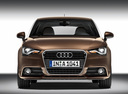 Фото авто Audi A1 8X,  цвет: коричневый
