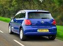 Фото авто Volkswagen Polo 5 поколение, ракурс: 180 цвет: синий