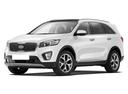 Новый Kia Sorento, белый металлик, 2017 года выпуска, цена 2 771 900 руб. в автосалоне КИА Центр Красноярск