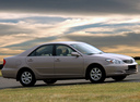 Фото авто Toyota Camry XV30, ракурс: 270 цвет: бежевый