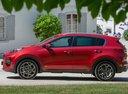 Фото авто Kia Sportage 4 поколение [рестайлинг], ракурс: 90 цвет: красный