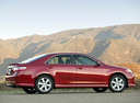 Фото авто Toyota Camry XV40, ракурс: 270 цвет: красный