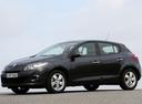 Фото авто Renault Megane 3 поколение, ракурс: 90 цвет: черный