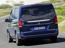 Фото авто Mercedes-Benz V-Класс W447, ракурс: 180 цвет: синий