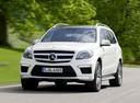 Фото авто Mercedes-Benz GL-Класс X166, ракурс: 45 цвет: серебряный