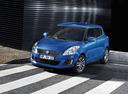 Фото авто Suzuki Swift 4 поколение [рестайлинг], ракурс: 45 цвет: синий