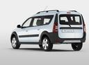 Фото авто ВАЗ (Lada) Largus 1 поколение, ракурс: 135 цвет: белый