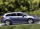 Фото авто Opel Astra J, ракурс: 270 цвет: голубой