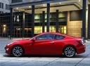 Фото авто Hyundai Genesis 1 поколение [рестайлинг], ракурс: 90 цвет: красный