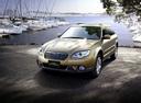 Фото авто Subaru Outback 3 поколение [рестайлинг], ракурс: 45 цвет: золотой