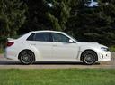 Фото авто Subaru Impreza 3 поколение [рестайлинг], ракурс: 270 цвет: белый