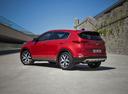 Фото авто Kia Sportage 4 поколение, ракурс: 135 цвет: красный