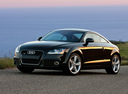 Фото авто Audi TT 8J [рестайлинг], ракурс: 45 цвет: черный