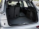 Фото авто Audi Q5 2 поколение, ракурс: багажник цвет: серебряный