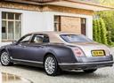 Фото авто Bentley Mulsanne 2 поколение [рестайлинг], ракурс: 135 цвет: синий